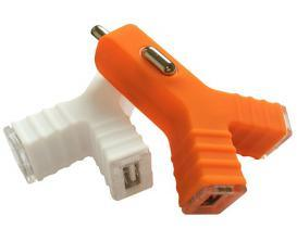 Dual USB Car Charger with LED light pictures & photos