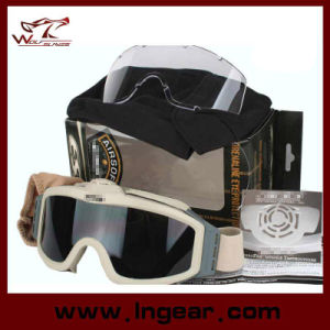 Es Crossbow Shooting Tactical Goggles Glasses Protective Goggles Airsoft Goggle pictures & photos