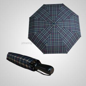 3 Fold Manual Open Golf Storm Umbrella Rain/Sun Umbrella (JF-MGF307) pictures & photos
