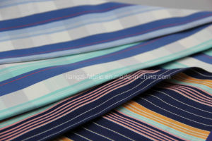 Yarn Dyed Satin Cotton Stretch Fabric pictures & photos