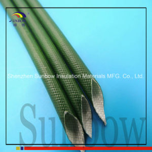 Sunbow Silicone Fiberglass Sleeving with RoHS Reach Approval pictures & photos