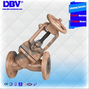 Industrial Soft Sealing Rubber Seated Globe Valve with Ce Approval