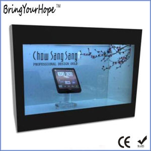 1080P HD 10 Inch Transparent LCD Display Showcase (XH-DPF-102C) pictures & photos