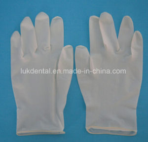 "High Quality 9"" Latex Gloves for Dental Use pictures & photos"