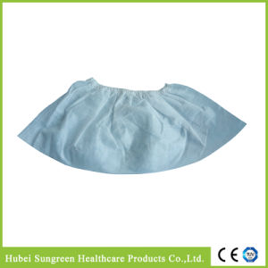 Machine Made Disposable Non-Woven Overshoe, Shoe Cover pictures & photos