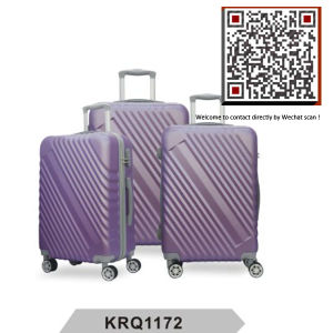 New ABS Style Plastic Waterproof Travel Trolley Luggage (KRQ1171) pictures & photos