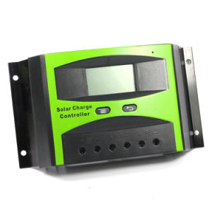 12V 24V 30A Solar Charge Controller LCD Display for Solar Home System with Light Timer Control Ld-30b pictures & photos