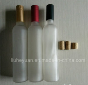 Glass Bottles for Red Wine/Grape Wine with Cork Stopper, Liquor Spirit Glass Bottles 500ml pictures & photos