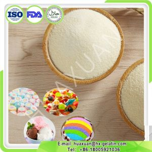 Food Grade Bovine Skin Gelatin for Ice Cream pictures & photos