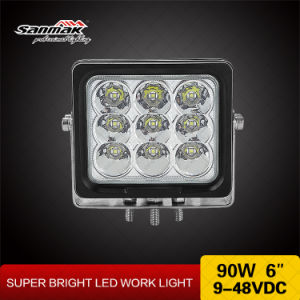 90W 6inch Powerful Output Spotlight LED Heavy Duty Light pictures & photos