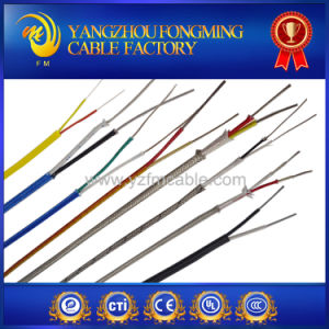 Heating Resistant Silicone Insulation Fiberglass Braid Stainless Steel Shield Cable Wire pictures & photos