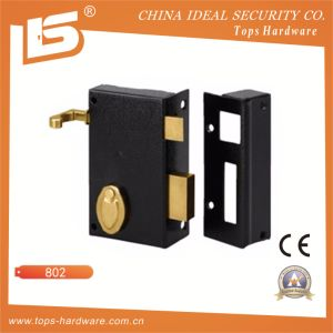 Bit Key Rim Lock Vertical with Pull-Action - 802 pictures & photos