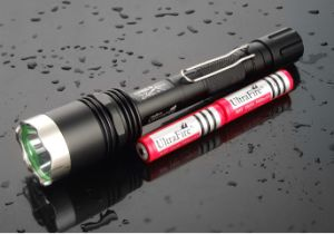 CREE U2 LED Tactical Flashlight Super Focusing Torch pictures & photos