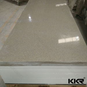 Bespoke Marble Look Artificial Acrylic Solid Surface Slabs pictures & photos