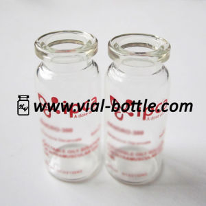 Glass Vial with Custom Logo, Printing on Glass Bottle 10ml pictures & photos