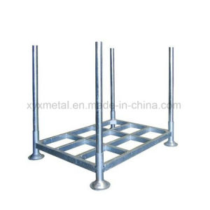 Heavy Duty Galvanized Stacking Steel Pallet Rack with Posts pictures & photos