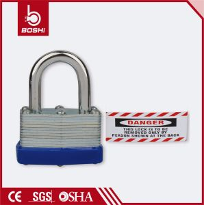 Bd-J44 28mm Shackle Length Padlock Steel Safety Padlocks pictures & photos