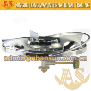 Single Round Plate Portable Camping Gas Burner Commercial Mini LPG Cooker pictures & photos