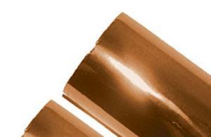"8""X200FT Matt Metallic Bronze Hot Stamp Foil on ABS pictures & photos"