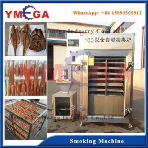 Multifunctional Chicken Duck Dried Bean Curd and Meat Fish Smoker pictures & photos