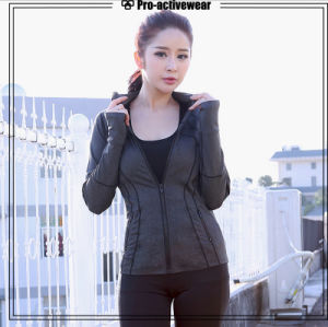 Custom Sports Training Clothes Traning Women Fitness Jacket pictures & photos