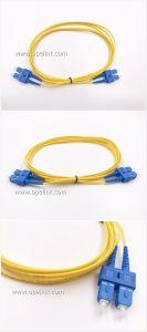 Fiber Optic Patchcord (Single Mode) Sc-Sc Duplex pictures & photos