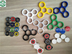 ABS Spinner Ball Bearing Toy ABS Plastic Hand Spinner Fidget Toy with Hybrid Ceramic Bearing 608 pictures & photos
