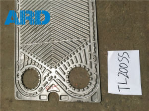 Thermowave Plate Heat Exchanger Plate Tl150ss Tl200s Plate Titanium C2000 AISI304 AISI316 pictures & photos
