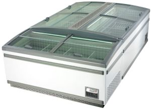 Island Freezer for Supermarket Meat Display Cabinet China Manufacturer OEM Available pictures & photos