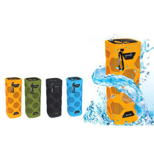 Outdoor Waterproof IP65 Super Bass N919 Bluetooth Speaker with NFC 4000mAh Power Bank Speaker for Mobile Phone Laptop Tablet PC pictures & photos