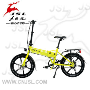 "TUV 20"" Aluminum Alloy 36V Lithium Battery Electric Bicycle pictures & photos"