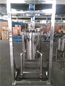 Stainless Steel Mixing Tank with Agitator and Brace pictures & photos