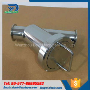 Sanitary Tri Clamp Y Type Strainer pictures & photos