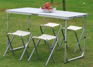 Folding Table for Camping or Picnic pictures & photos