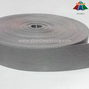 1.25 Inch Gray Flat Nylon Webbing pictures & photos