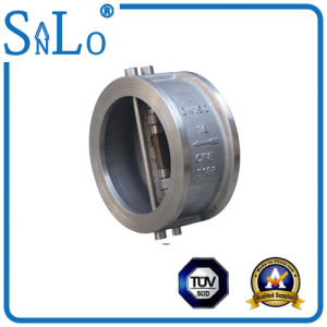 H76 Type Double Disc Swing Type Wafer Check Valve pictures & photos
