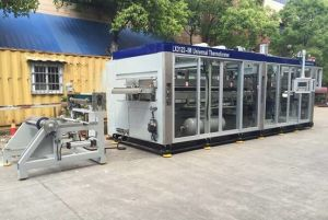 2in1 Thermoforming Equipment with Steel-Rule-Knife pictures & photos