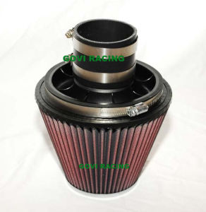 6in Car Air Filter with 3′′/3.5′′ Velocity Stack & 3′′ Silicone Hose pictures & photos