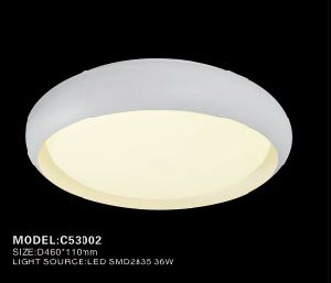 Simple Round Ceiling Lamp with LED Light pictures & photos