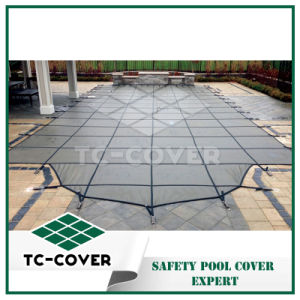 Durable Leaf Safety Cover for Outdoor Pool pictures & photos