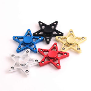 2017 Wholesale Fidget Toys Five Pointed Star Shape Hand Spinner pictures & photos