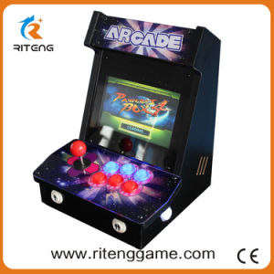Mini Wooden Bartop Console Cabinet Arcade Game Machine pictures & photos