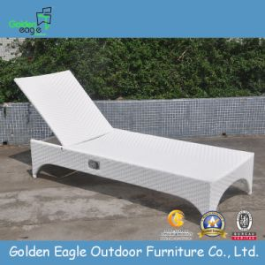 PE Rattan Aluminum Tube High Quality Beach Chair (L0039)