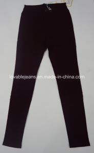 7.1oz Red Skinny Long Pants (HY0616F) pictures & photos