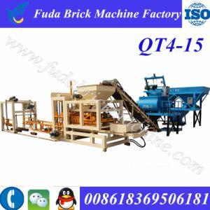 Qt4-15 Hydraulic Cabro Block Making Machine/Concrete Paver Brick Machine Price pictures & photos