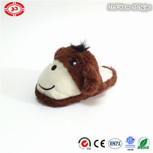 Poo Shape New Design Custom Happy Face Plush Slipper Shoe pictures & photos