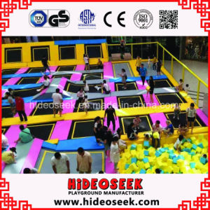 Ce Standard Large Indoor Trampoline Bed for Children pictures & photos