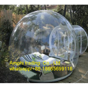 Inflatable Tent Type Clear Dome Tent Inflatable Bubble Camping Tent pictures & photos