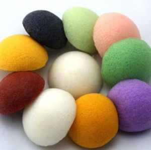 Colorful Washable Organic Konjac Sponge pictures & photos