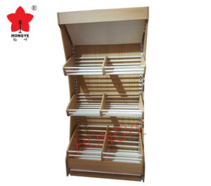 MDF Backpanel display Shelving pictures & photos